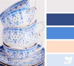 porcelain blues  <3 <3 <3