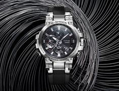 It was first revealed at Basel world Casio has now officially released its first-ever Connected MT-G timepieces. The G Shock MT-G Watch is a Cool Watches, Rolex Watches, Watches For Men, G Watch, Mens Gear, Casio G Shock, Gadget Gifts, Omega Watch, Cool Stuff