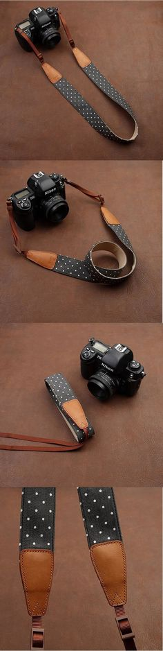 Amazing Camera Strap!Want it! i-cam - Handmade Leather Camera Strap in Brown- CAM7117