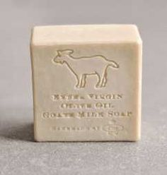 A luscious and creamy Extra Virgin Olive Oil Soap made with Organic Honey, Organic Goat Milk