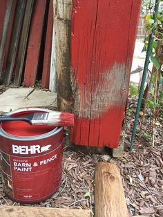 Behr Barn & Fence Paint/City Girl is a Country Girl at Heart!