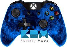 Blue Camotech Xbox One Controller  - KwikBoy Modz  #KwikBoyModz #CustomController #Controller #XboxOne #XboxOneController #CustomXboxOneController #CamoTech