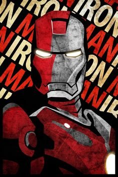 Posters to decorate the basement. Iron Man