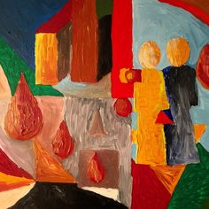 El Museo Acryl on Panel 50 x 40 cm 2016