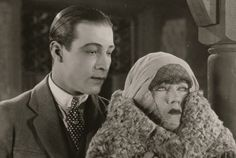 Rudolph Valentino and Gloria Swanson in Beyond The Rocks