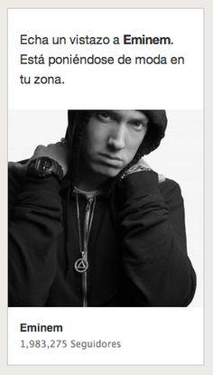 Spotify me dice que el barrio es ahora rapero.