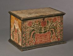 A Profusely Decorated Valuables Box | Olde Hope Antiques