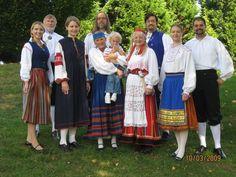 Národní kroje Estonsko