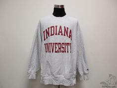 Vtg 90s Champion Indiana University Hoosiers Crewneck by TCPKickz #tcpkickz