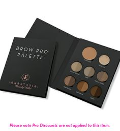 Anastasia Beverly Hills Brow Pro Palette.  If you're a Makeup Artist and want it all like I do or if change your hair color often, this rad little palette is a DREAM.