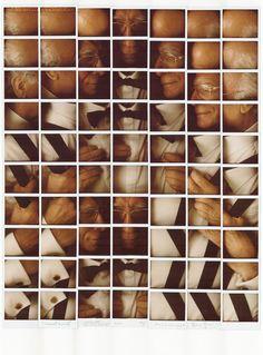 Polaroid Mosaics By Maurizio Galimberti A Level Photography, Photography Collage, Close Up Photography, Amazing Photography, Portrait Photography, Polaroid Collage, Collage Art, Polaroid Film, Chuck Close Portraits