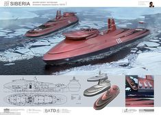 """#DailyMailUK ..... """"The ice-breaking craft, which has been named 'Leader', is designed to keep the Northern Sea Route, along the country's Arctic coast, open all year round."""".... http://www.dailymail.co.uk/sciencetech/article-4054736/Russia-s-futuristic-new-weapon-race-control-Arctic-Nuclear-powered-ice-breaker-vital-coastline-open-year-round.html"""