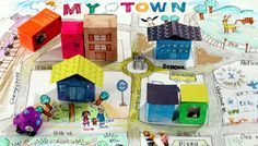 Map Skills - Educational Arts and Crafts For Kids - Free Craft Ideas (grade 3 art thoughts) Map Projects, School Projects, Projects For Kids, Crafts For Kids, Children Crafts, Art Children, House Projects, Geography For Kids, Maps For Kids