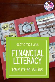Are you looking for a fun way to teach financial literacy? This unit is all about student learning with engaging activities, games, worksheets, sorting activities & a very high interest lap book! There are also 14 vocabulary anchor charts.