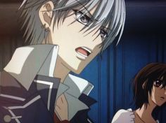 Zero and Yuki. Yuki And Zero, Matsuri Hino, Yuki Kuran, Zero Kiryu, Anime Suggestions, Hot Vampires, Snowy Day, Vampire Knight, Anime Love