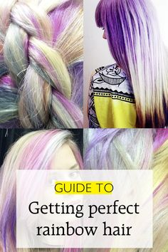 Bleach London's Guide To Getting Rainbow Hair | Hair | Grazia Daily
