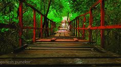 Wood bridge #bridge #lakadipool #wood #woodbridge