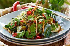 Asiatisk sommerwok Frisk, Green Beans, Spinach, Nom Nom, Food Porn, Vegetables, Recipes, Summer, Recipies