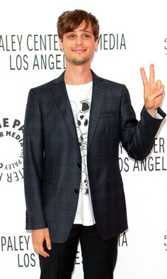 Matthew Gray Gubler. Love his spontaneity. If you watch Criminal Minds (like why wouldn't you?) then you know his name but he's super funny and so different outside the show!