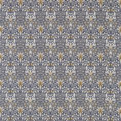 The Original Morris & Co - Arts and crafts, fabrics and wallpaper designs by William Morris & Company | Products | British/UK Fabrics and Wallpapers | Snakeshead (DM3P224469) | Archive III Prints