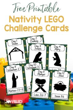 If your kids love LEGOs, they will love these Nativity LEGO challenge cards. This is a fun activity the whole family can do together this Christmas season! Sister Quotes, Family Quotes, Daughter Quotes, Mother Quotes, Father Daughter, New Grandparent Gifts, New Grandparents, Challenge Cards, Lego Challenge