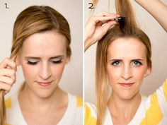 How to do a Twist Braid and Waterfall / Six Sisters' Stuff | Six Sisters' Stuff