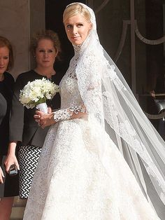 Vows in Valentino: Nicky Hilton Weds James Rothschild http://www.people.com/article/nicky-hilton-james-rothschild-wedding