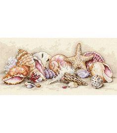 Dimensions Petite Seashell Treasures Ctd X-Stch