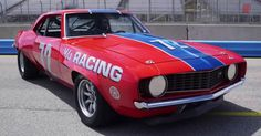 This iconic 1969 Chevy Camaro Z/28 Trans Am Race car is one of the best muscle cars from the golden era. It belongs to Steve Link, a racer in the historic Trans Am Series. Double click on the image to see the video