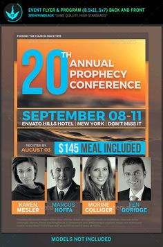 Revelation Prophecy Conference Flyer Template  Flyer Template