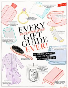 Every December Issue Gift Guide Ever