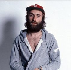 Phil Collins looks like a modern hipster in this photo from '76 : OldSchoolCool