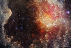 NGC 7822: Stars and Dust Pillars in Infrared
