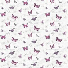 MyTinyWorld Dolls House Miniature Butterflys On White Wallpaper: Amazon.co.uk: Toys & Games