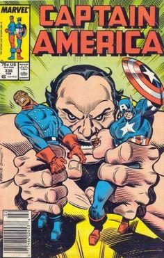 Captain America # 338 by Ron Frenz & Joe Sinnott