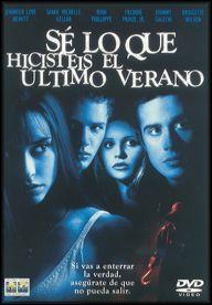 Sé lo que hicistéis el último verano (1997) EEUU. Dir.: Jim Gillespie. Terror. Adolescencia - DVD CINE 2117