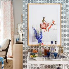 If you're here for the first time, welcome!I'm Jana Bek, an interior  designer with an emerging lifestyle line of home décor,textiles, & lighting. I have a love for bright colors, bold prints, and designing  spaces & home décor that help transport you to your dream destination.  I'm so excited to be participate in my fourth season of One Room Challenge , this go-around I've made over our living room.  You can view my initial planning here:  Week I Week II Week III Week 4 Week 5  I…
