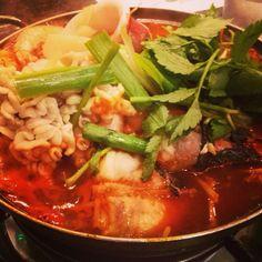Seafood soup @ ondul koreatown