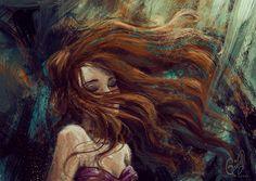 Old Disney, Disney Fan Art, Anchor Art, Ariel The Little Mermaid, Chica Anime Manga, Illustration Girl, Looks Cool, Urban Art, Female Art