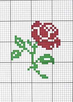 New Pic Cross Stitch rose Concepts Sew French: French Rose Pattern Cross Stitch Patterns Free Easy, Wedding Cross Stitch Patterns, Disney Cross Stitch Patterns, Cross Stitch Freebies, Cross Stitch Charts, Cross Stitch Designs, Small Cross Stitch, Cross Stitch Letters, Cross Stitch Bird