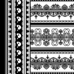 halloween border fabric