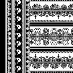 Spooky Border 2 fabric by jadegordon on Spoonflower - custom fabric