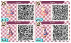 my name is claudia and you can find qr codes for animal crossing here! I also post non qr code related stuff so if you're only here for the qr codes please just blacklist my personal tag. Animal Crossing New Leaf Qr Codes, Animal Crossing Pattern, Animal Crossing Qr Codes Clothes, Fairy Tail, Pokemon, Rwby, Rose Winter, Dream Code, Motif Acnl