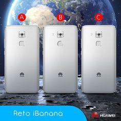 """🏆Reto iBanana de Agudeza visual 👀 👉Comenta y haz """"me gusta"""" si sabes la respuesta.. ¿Eres capaz de saber cual es el verdadero Huawei Nova Plus? A, B o C"""