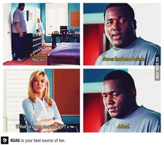 The blind side ❤  heart breaking quote, but such a wonderfully uplifting and heartwarming story overall
