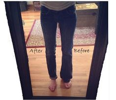 The Crafty Novice: DIY Sew: Jeans Refashion