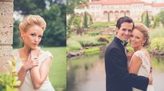 Redeemed Productions did a wonderful job of capturing every moment of this gorgeous spring wedding ceremony at the Philbrook Museum of art.