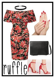 """""""Ruffle Tropics: GROUP Entry"""" by haybeebaby on Polyvore featuring Miss Selfridge, Missguided, Violeta by Mango, Piggy Paint and ruffles"""