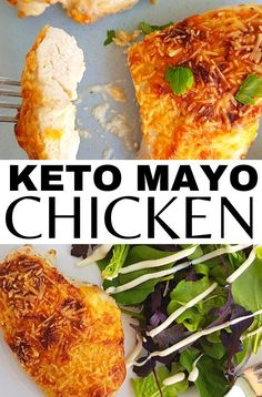 This easy chicken mayo parmesan keto recipe is to die for!! You need to try this keto chicken thigh recipes, it's so tender and juicy and will just melt in your mouth! Full of protein too! Low Carb Chicken Thigh Recipe, Crockpot Chicken Thighs, Chicken Fajita Recipe, Low Carb Chicken Recipes, Low Carb Dinner Recipes, Keto Dinner, Lunch Recipes, Easy Baked Chicken, Baked Chicken Breast