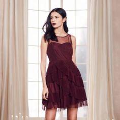 LC+Lauren+Conrad+Runway+Collection+Tiered+Fit+&+Flare+Dress+-+Women's
